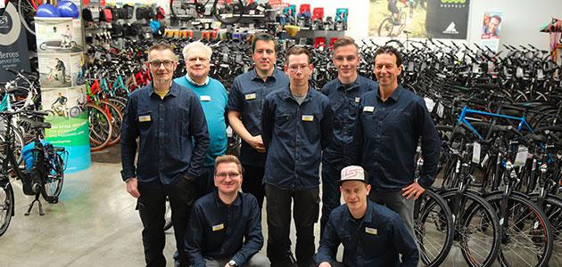 Fahrradbörse Neumünster – das Team