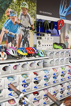 1500 Fahrräder auf 750 qm Verkaufsfläche